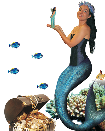 Mermaid and the Seafairies party